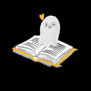 Guter Geist in Tagebuch