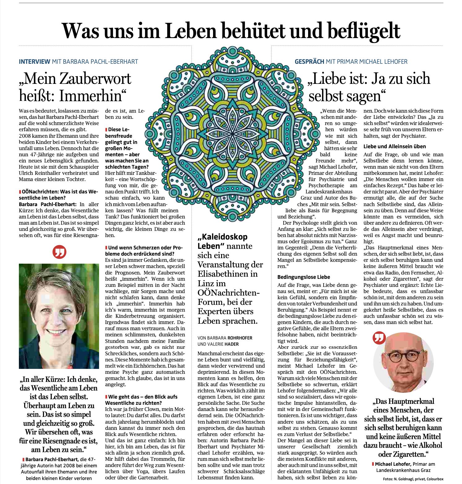 Kaleidoskop Leben Barbara Pachl-Eberhart